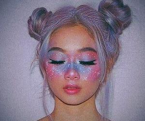edit, girl, and unicorn image