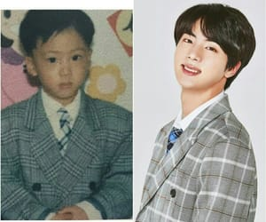 bts, baby, and jin image