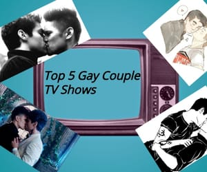 article, couple, and gay image