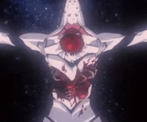 angel, evangelion, and distroy image