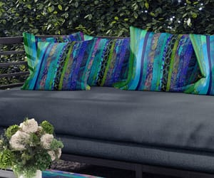 blue green, etsy, and home decor image