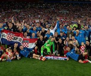 Croatia, nogometasi, and hrvati image