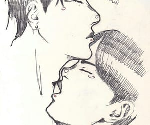 homosexual, bts, and namjin image