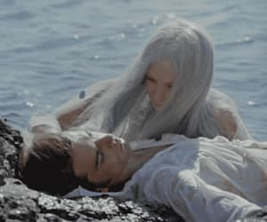 gif, the little mermaid, and 70's movies image