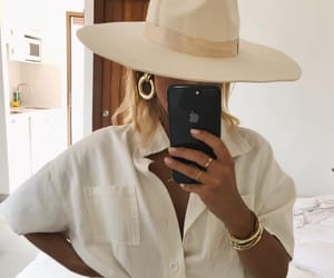 beauty, hat, and blogger image