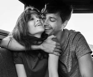 aesthetic, black and white, and lovers image