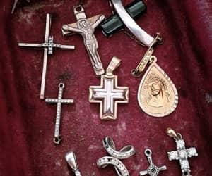 aesthetic, jesus, and cross image