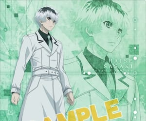 sample, binder, and kaneki ken image
