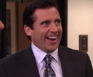 Steve Carell, the office, and michael scott image