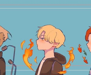 fanart, rapline, and suga image