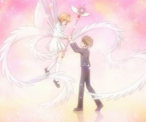 anime girl, card captor sakura, and lov image