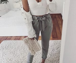 chic, room, and white image