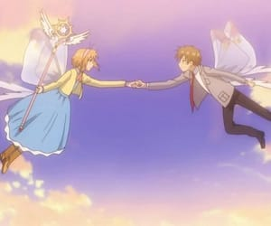 anime, sakura, and syaoran image