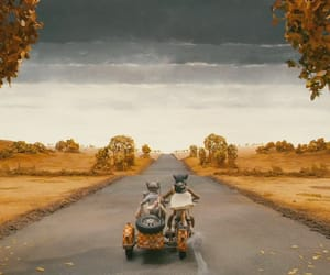 gif, yellow orange october, and wes anderson image