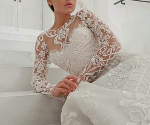 bride, Couture, and engaged image
