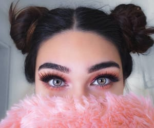 beautiful, beauty, and eyebrows image