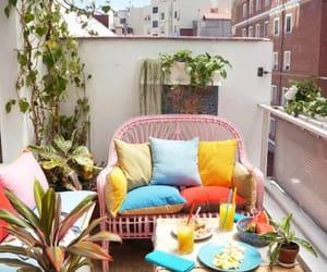 decoracion, rincon con encanto, and balcón image