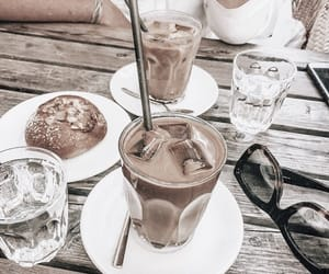coffe, ice, and drinks image