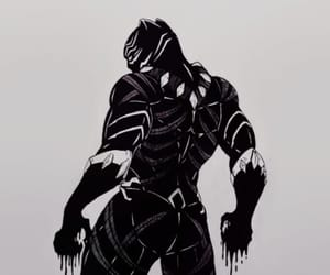 black panther, Marvel, and chadwick boseman image