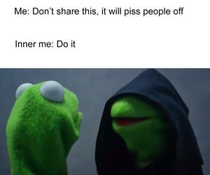 kermit the frog, meme, and inner me meme image