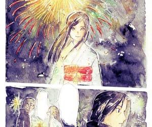 fireworks, uchiha, and itachi image