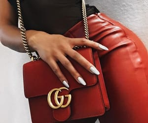 fashion, nails, and gucci image