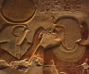egypt, gold, and pharaoh image