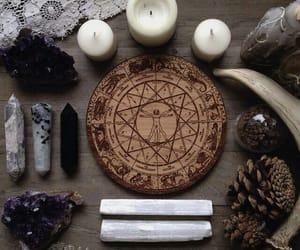 astrology, crystals, and magic image