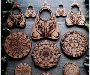 astrology, ouija, and woods image