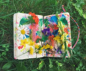 aesthetic, colors, and journal image