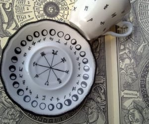 coffee, cup, and decor image