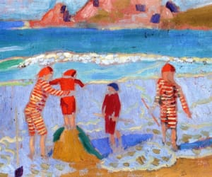 1909, Maurice Denis, and am strand image