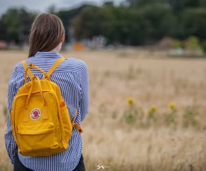 backpack, girl, and goteborg image