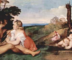 edinburgh, Öl auf leinwand, and tizian image