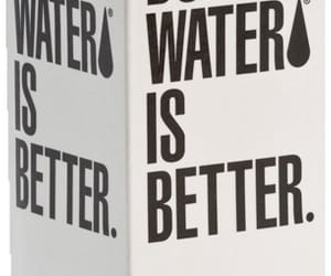aesthetic, boxed water, and water image