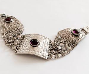 israel, chain bracelet, and vintage bracelet image