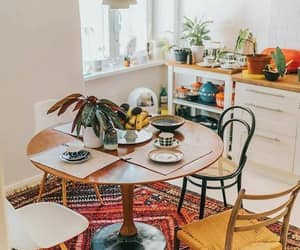 dining room, home, and home decor image