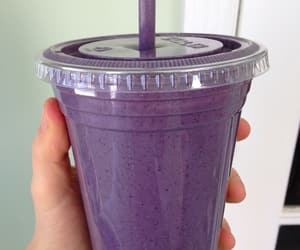 drink, purple, and food image