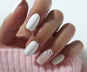 chic, mode, and nailpolish image