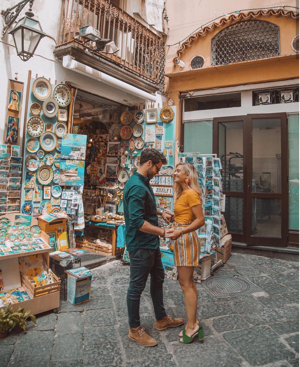 couple, luxury, and shopping image