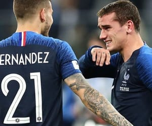 antoine, foot, and griezmann image
