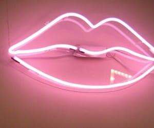 kiss, pink, and light image