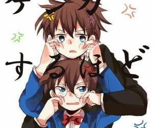 conan, kaito, and edogawa conan image