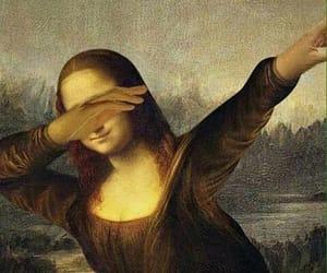 art, monalisa, and cool image