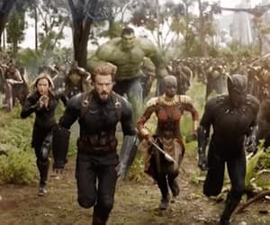 Avengers, gif, and white wolf image