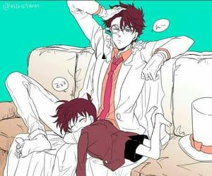 kawaii, detective conan, and shinichi kudo image