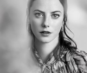 black and white and KAYA SCODELARIO image