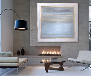 Abstract Painting, original art, and gallery wall image