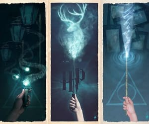 art, marcadores, and harry potter image