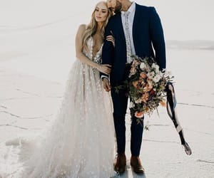 beautiful, white, and dress image